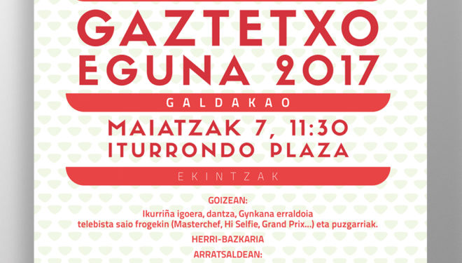Gaztetxo Eguna 2017