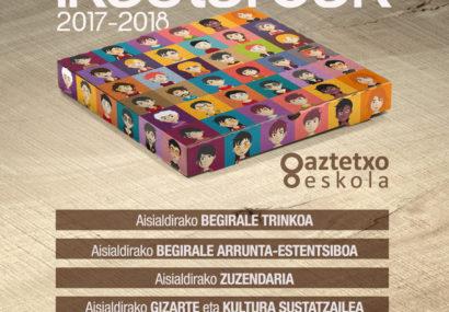 Gaztetxo Eskola MARTXAN!!! 2017-2018 ikasturtea PREST!